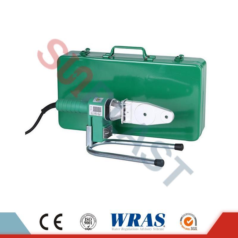 পিপিআর পাইপ জন্য 20-32mm সকেট ফিউশন ঢালাই মেশিন & amp; এইচডিপিই পাইপ