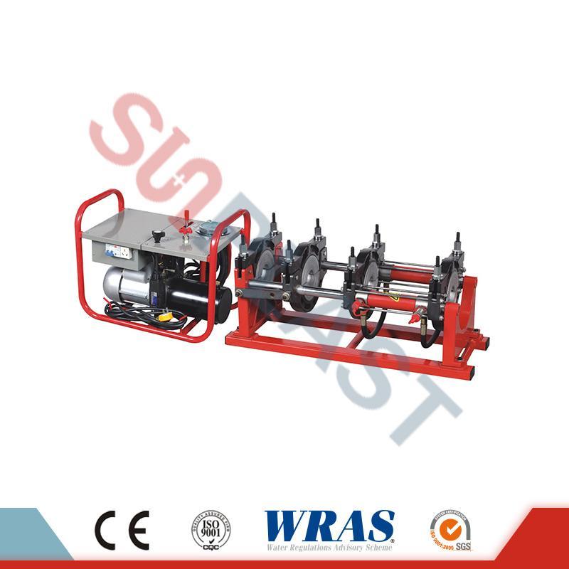 HDPE পাইপ জন্য 90-250 মিমি হাইড্রোলিক বাট ফিউশন ঢালাই মেশিন
