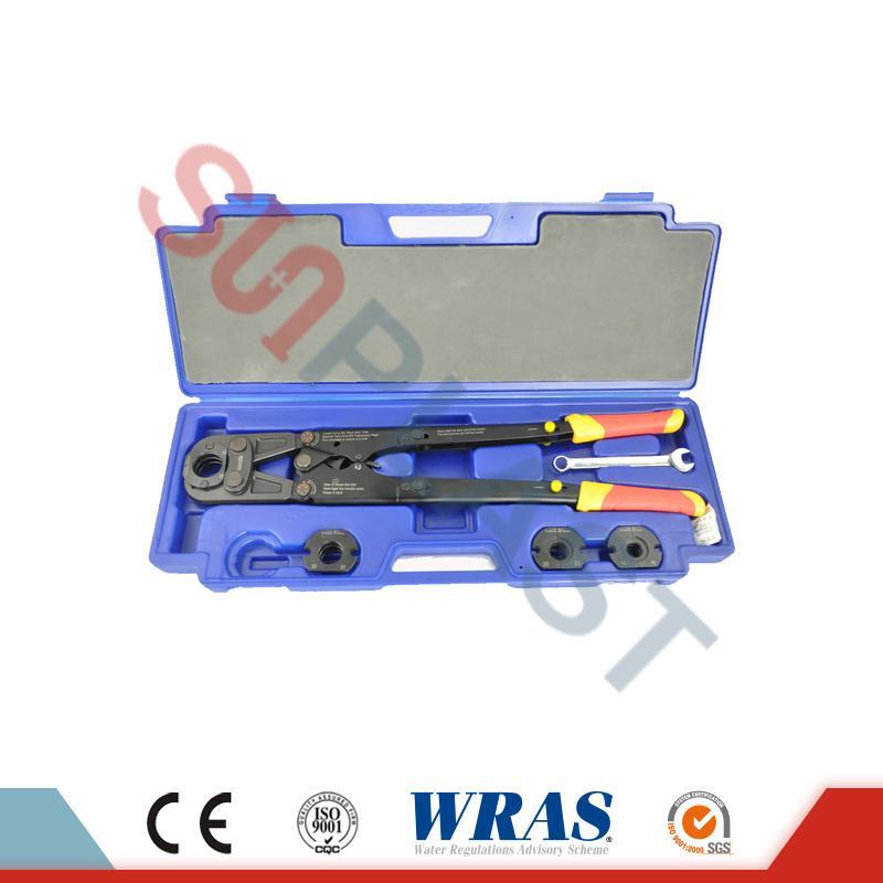 PEX-AL-PEX পাইপের জন্য প্রেস টুলটি & amp; PEX পাইপ