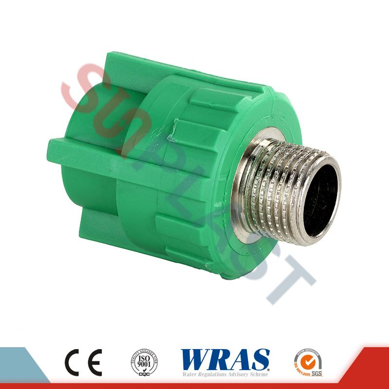 Green PPR Male Coupler